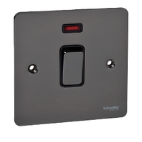 Cooker Switch 32A Ultimate with Neon Black Nickel