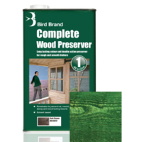 5L Bird Brand Clear Wood Preserver-Forest Green
