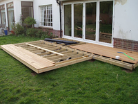 Decking Pack Imported Redwood  4.8 x 3.6 Metre (16x12ft)