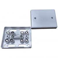 Alarm Junction Box 10 Screw White J80