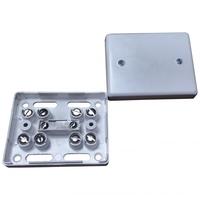 Alarm Junction Box 10 Screw White J80
