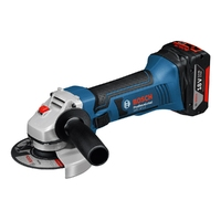 Bosch GWS18VLI-P2 18V 41/2'' 115mm Angle Grinder C/W 2 x 4.0Ah Li-ion Batteries & Charger In L-boxx (Ploughing Special Discount Price)