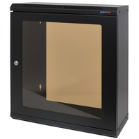 Penn Elcom 12U Shallow Wall Mount Rack Cabinet (R6025-M6-12UK)