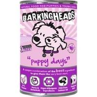 Barking Heads Cans Puppy Days 400g x 6