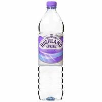Pet Bottle Water Highland Sparkling 12x1.5ltr