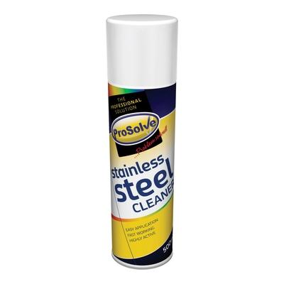 SSC5 PROSOLVE STAINLESS STEEL CLEANER 500ML AEROSOL