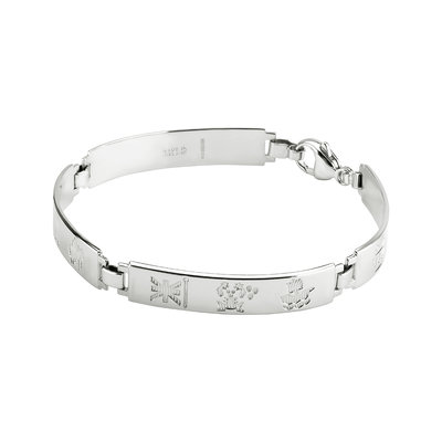 14KW HOI 4 LINK LIGHT BRACELET - SMALL LOBSTER CLASP(BOXED)