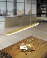 Paul Neuhaus Skate Warm White 25W LED Gold Linear Pendant | LV2002.0018