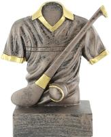 15cm Hurley, Jersey & Sliotar - Bronze/Gold T