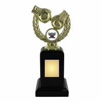 20cm Gold Boxing Trophy on Black Plinth