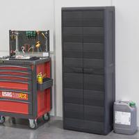 Elegance Outdoor Cabinet Black (W65 X D38 X H171 Cm)