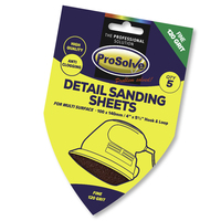 PVDSP120 PROSOLVE DETAIL SAND SH H&L 100X140MM 5PC