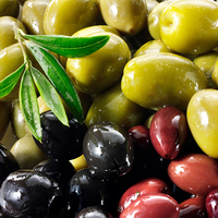 Olives Green & Kalamata Mix Pitted Chilli,Garlic,Herbs Marinated 3kg