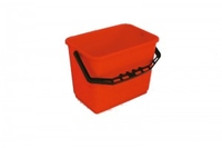 BUCKET 6ltr CALIBARATED RED