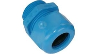 Cable Glands Plastic PG 7 Blue