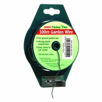 Bosmere Wire Garden Plastic Coated 1.2mm x 100m