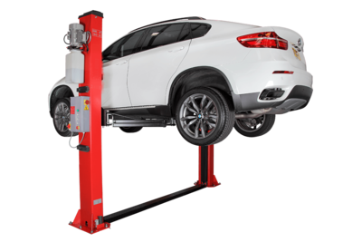 TARANTO 2 Post Car Lift Manual Release 4 Ton 230v Single Phase