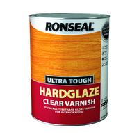 RONSEAL ULTRA TOUGH HARDGLAZE CLEAR VARNISH 5 LTR