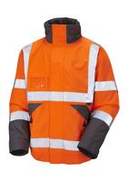 Leo Bickington Superior Bomber Jacket Orange
