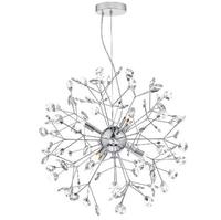 Vivien 6 Light Sputnik Pendant, Polished Chrome/ Clear | LV1802.0110