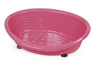 Straka 50 Plastic Dog Bed (50cm Base) - Pink