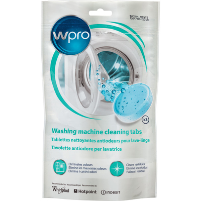 Wpro C00376307 Washing Machine Odour Prevention Tablets (3 Pack)