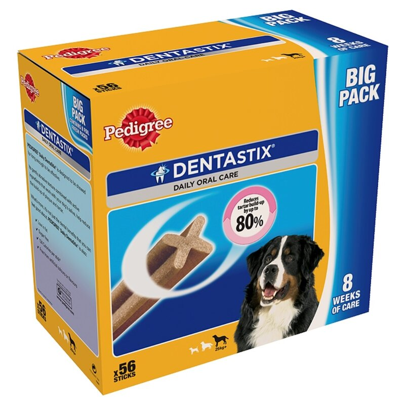 Pedigree Dentastix Large Dog 56 Stick Pack