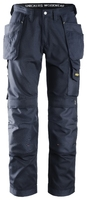 Snickers 3211 Craftsmen Holster Pocket Trousers, CoolTwill Navy