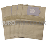 No. 139 Victor D9A Canister Paper Bags (Pack of 5)