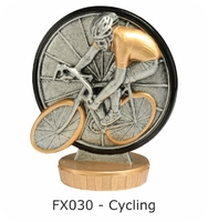 Cycling Flex Figure 75mm (Silver & Gold)
