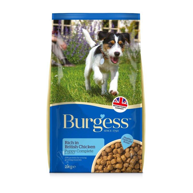 Burgess Puppy Rich in Chicken 12.5kg