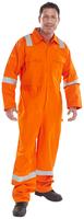 Click Fire Retardant Coverall Nordic Design Orange