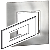 Arteor (British Standard) Plate + Support 6m Square Stainless Steel| LV0501.0203