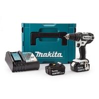 Makita Drill 18V Li-Ion DHP482RFWJ 18V With Free 19 Piece Drill Bit Set