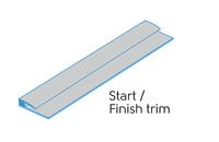 2.50m - 2 PART START/FINISH TRIM CLOUD