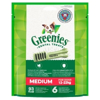 Greenies Original Dental Treats - Regular 170g x 1