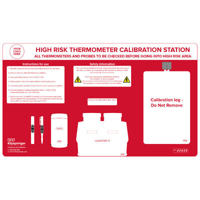 LAZAPORT8 Thermometer Calibration Station