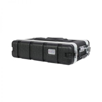 Protex 2U Short ABS Rack Case