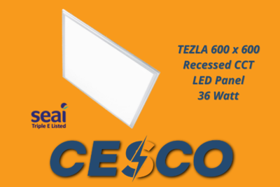 Tezla 600 x 600 CCT LED Panel