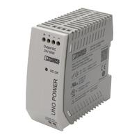Phoenix-DIN Rail Power Supply 24vDC/2.5A 1P