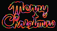 Merry Christmas Sign Multi Colour