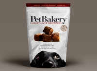 Pet Bakery Luxury Liver Brownies x 6