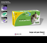 Van Ness Litter Tray Liner Large 12-Pack x 1