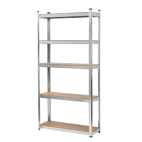 Blackspur 5 Tier Boltless Galvanised Steel Shelving Unit -1.78M (H)