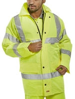 Hi-Vis Yellow 4 Seasons Jacket