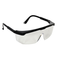 Bodytech Eagle Safety Glasses, Clear Lens