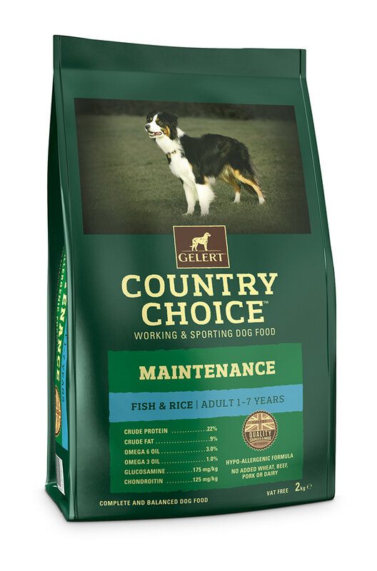 Gelert Country Choice Maintenance Fish Adult Dog Food 2kg