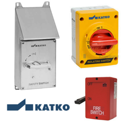 ENCLOSED ISOLATORS AND SWITCHES FROM KATKO