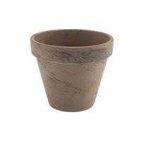 Terracotta Pot Basalt 11.2 x 9.7cm