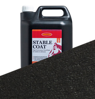 25L Black Protek Stable Coat